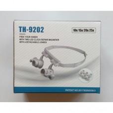 Бинокулярные очки с LED подсветкой TH-9202