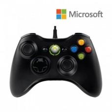 Проводной джойстик для Xbox 360 Чёрный