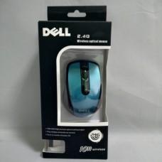 Беспроводная компьютерная мышка DELL 2.4G мышь Синяя