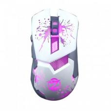 Игровая компьютерная мышь проводная с подсветкой Zornwee Z 42 Белая