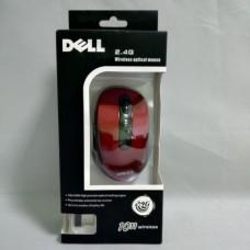 Беспроводная компьютерная мышка DELL 2.4G мышь Красная