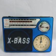 Портативный радио приемник RX-722LED Синий