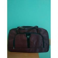 Дорожная сумка саквояж 33х53см Бордовая