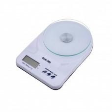 Кухонные Электронные Весы SСА 301 7 кг Белые