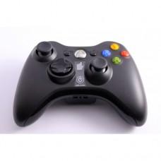 Беспроводной джойстик для Xbox 360 Чёрный
