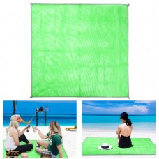 Коврик-подстилка для пикника или моря анти-песок Sand Free Mat 200x200 мм Зелёный