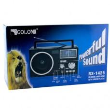 Портативный радио приемник GOLON RX 1425 USB FM Чёрный