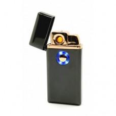 Зажигалка USB электроимпульсная + Газ ТH-705 Черная