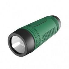 Портативная Bluetooth колонка Zealot S1 с функцией power bank и фонариком Зелёная
