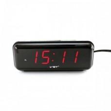 Электронные проводные цифровые часы VST 738 Красная подсветка