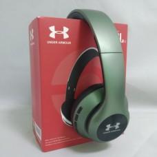 Беспроводные Bluetooth наушники Wireless Headphones Harman JBL UA67 с FM MP3 microSD/TF Тёмно зелёные