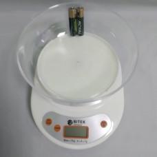 Электронные Кухонные Весы ВИТЕК до 7кг + батарейки Белые