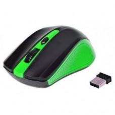 Беспроводная оптическая мышка мышь UKC 211 Зелёная