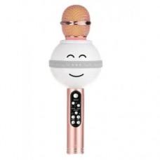 Беспроводной микрофон караоке блютуз WS-878 Bluetooth динамик USB