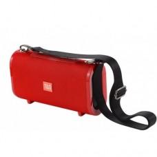 Портативная bluetooth колонка влагостойкая JBL TG-123 FM, MP3, радио Красная