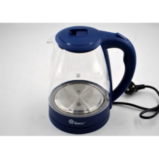 Электро чайник Domotec MS-8211 2200W 2L стекло с подсветкой