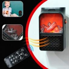 Портативный Электро Обогреватель с имитацией камина FLAME HEATER 500ВТ