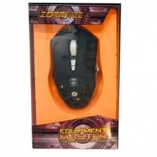 Компьютерная игровая мышь, мышка Zornwee GX30 с подсветкой Чёрная