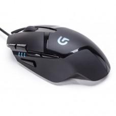 Игровая компьютерная мышь проводная Logitech G402 Hyperion Fury Чёрная