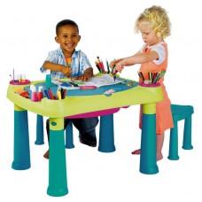 Детский игровой столик со стульчиками