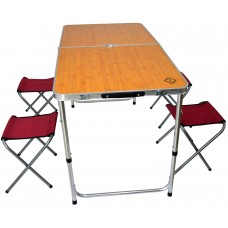 Раскладной стол для пикника со стульями Bonro модель D