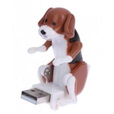 USB Dog Humping прикол игрушка-поевушка озабоченный пёс