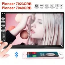 """Автомагнитола 2DIN Pioneer 7040CRB Pioneer 7023CRB 7"""" USB+SD+BT пульт"""