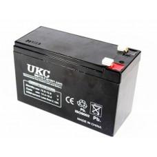Аккумулятор BATTERY UKC 12V 7А UKC 12V 9A Герметичный Гелевый. 270>GRN>UKC 12V 7.2A