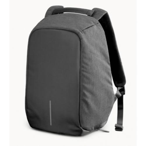 c7c207145725 Travel Bag 9009 Рюкзак АнтиВор Bobby Bag Antivor +USB Чёрный Серый