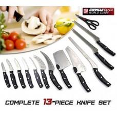 Набор ножей Miracle Blade Миракл Блейд Профессиональный Нож 13шт.