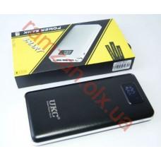 Smart UKC Power Bank 99000mAh 3USB + 2LED с Экраном и Фонариком