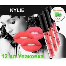 Помада Kylie 12шт в Упаковке 3 Вида.Набор Жидких Помад от Кайли Дженер