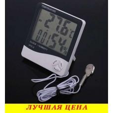 Метеостанция, Часы, Гигрометр, Влагометр HTC-2