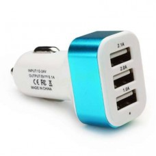 USB Зарядное от Прикуривателя 1USB 2USB 3USB 12-24V--5V 5.1A