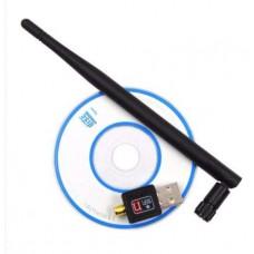 USB Wi-Fi Адаптер Ralink MT7601 Антенна, CD, 5dBi, 600 Мбит/с, 802.1IN